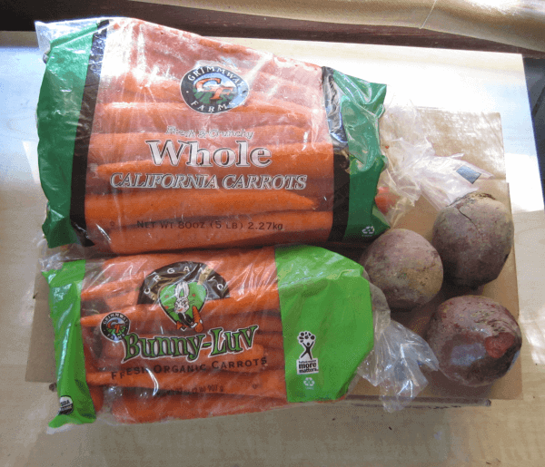 Carrots & beets